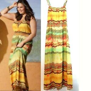 22/24 Lane Bryant Chiffon Maxi Dress / Sundress
